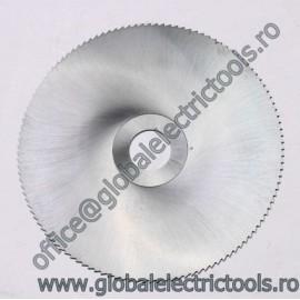 Freza disc STAS 1159 DIN 1837 - Forma F 125 x 0.8