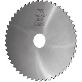 Freza disc STAS 1159 DIN 1838 - Forma G 125 x 2