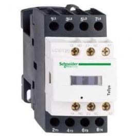 Contactor 3P 9A, auxiliar 1NO, bobina 24Vcc